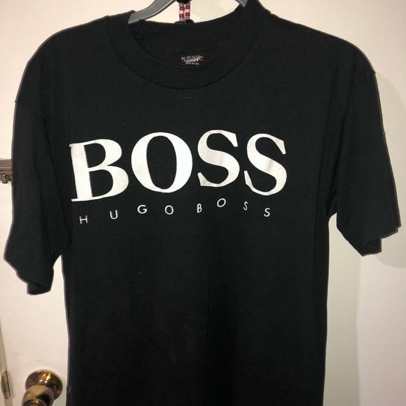 d086bd963 Hugo Boss Shirts   Vintage 90s America T Shirt Xl Thin   Poshmark